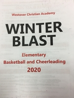 WINTER BLAST 2020 INFORMATION