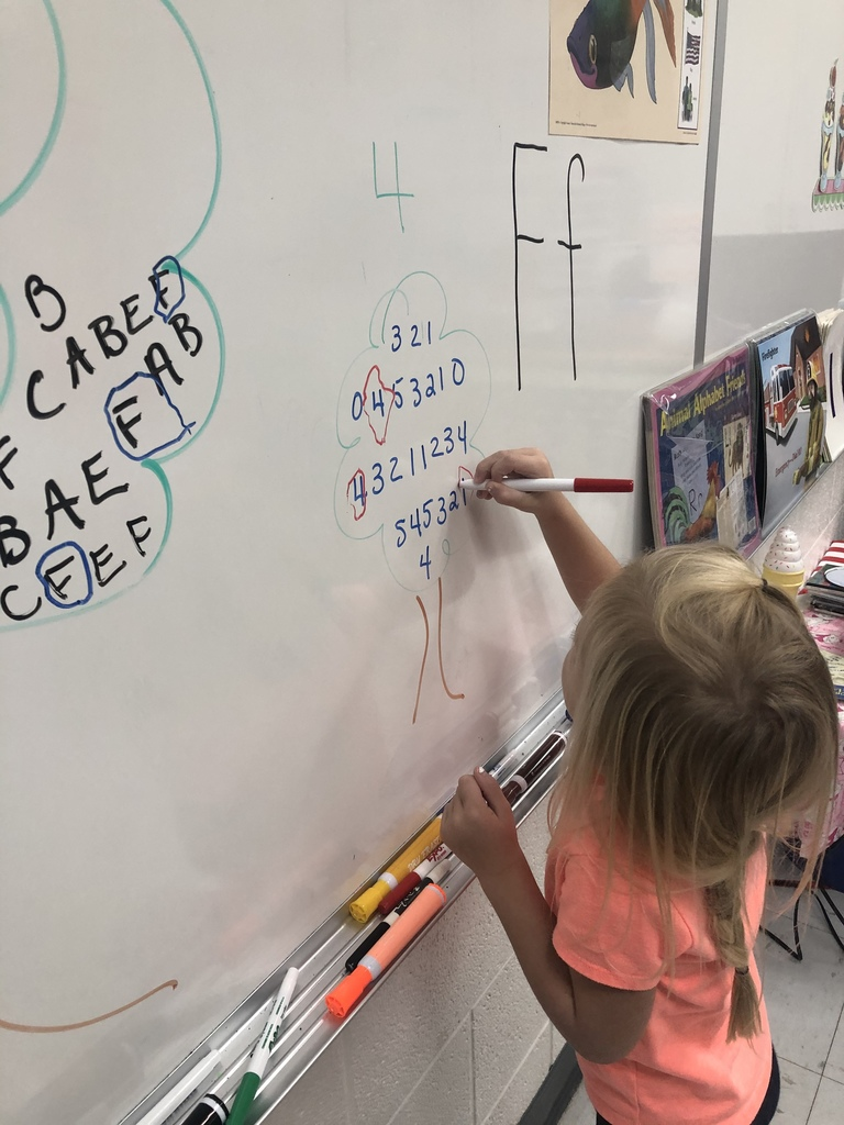 Letter and number recognition