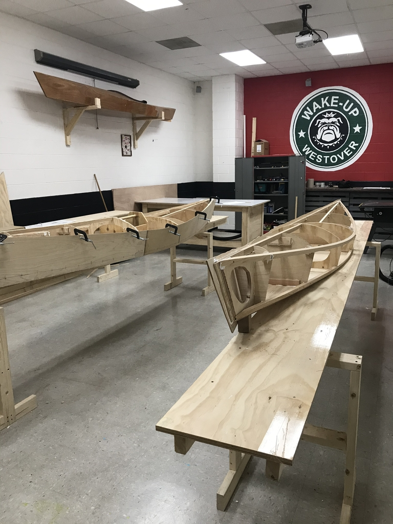 Things looking good in Boatbuilding 1