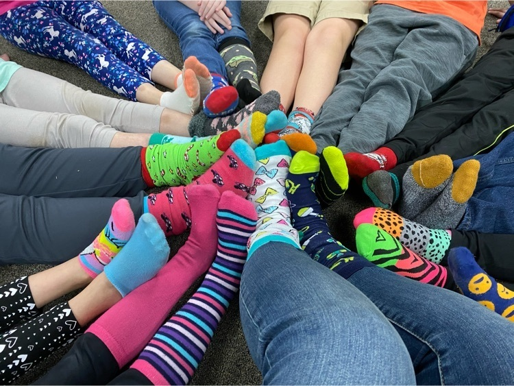 Mismatched Sock Day for Second Grade!