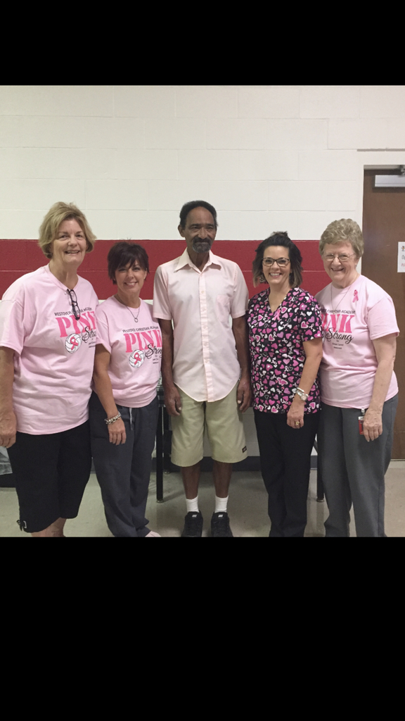 Dig Pink Day at WCA