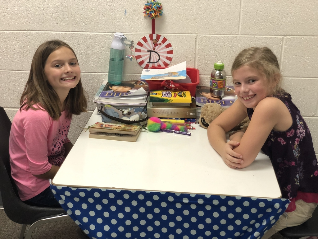 4th Grade girls enjoying the AR Table for the day! Rewards are sweet!!