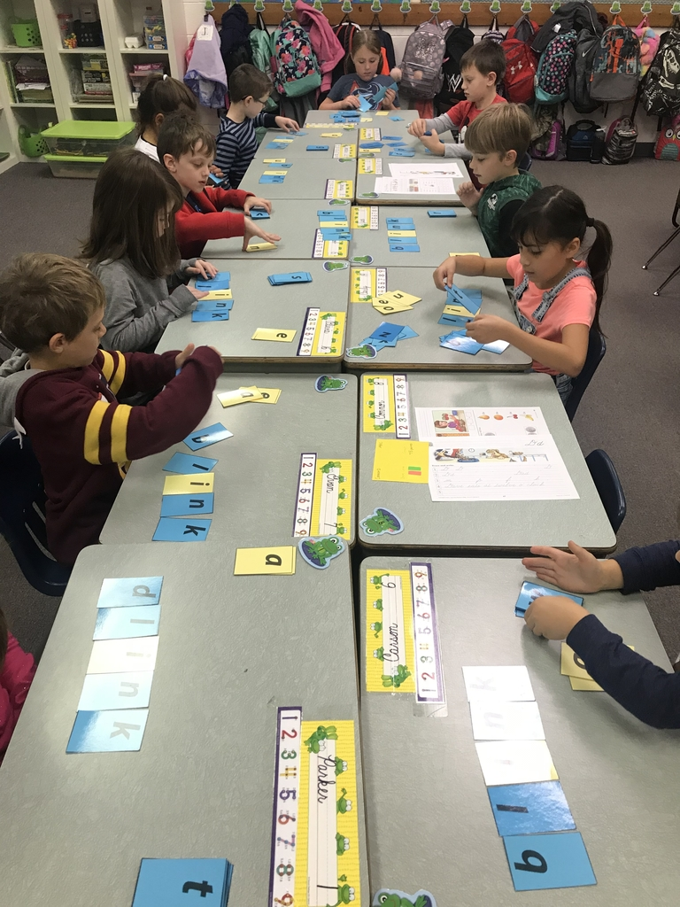 Building Word Families in First Grade