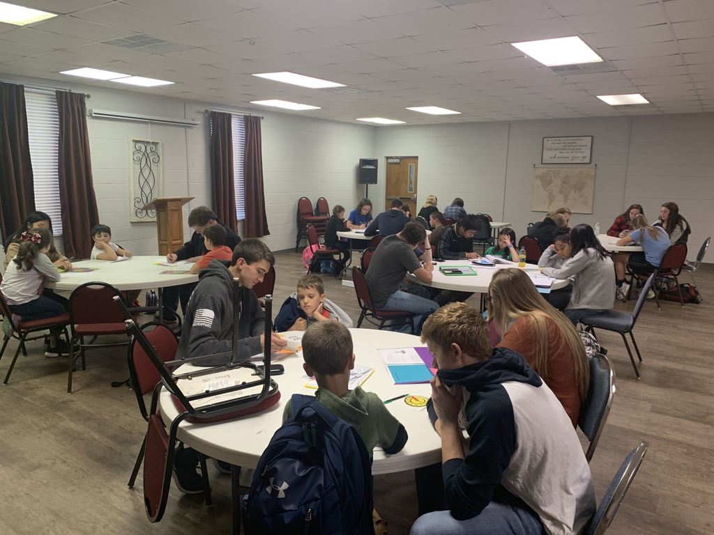 Connection Point filled with learning in the WCA after school tutoring club!