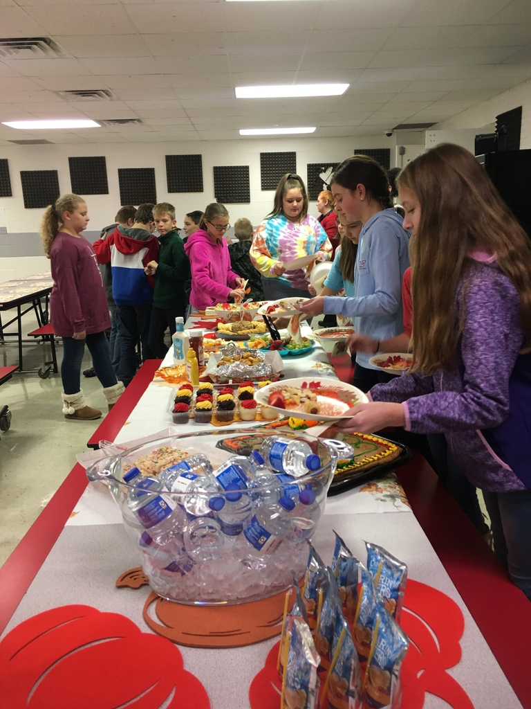 Sixth Grade Harvest Party!