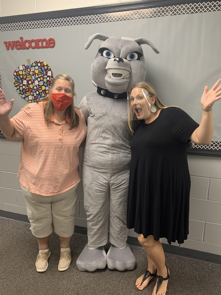 Mrs. Richardson and Mrs. Williamson are ready to welcome students!