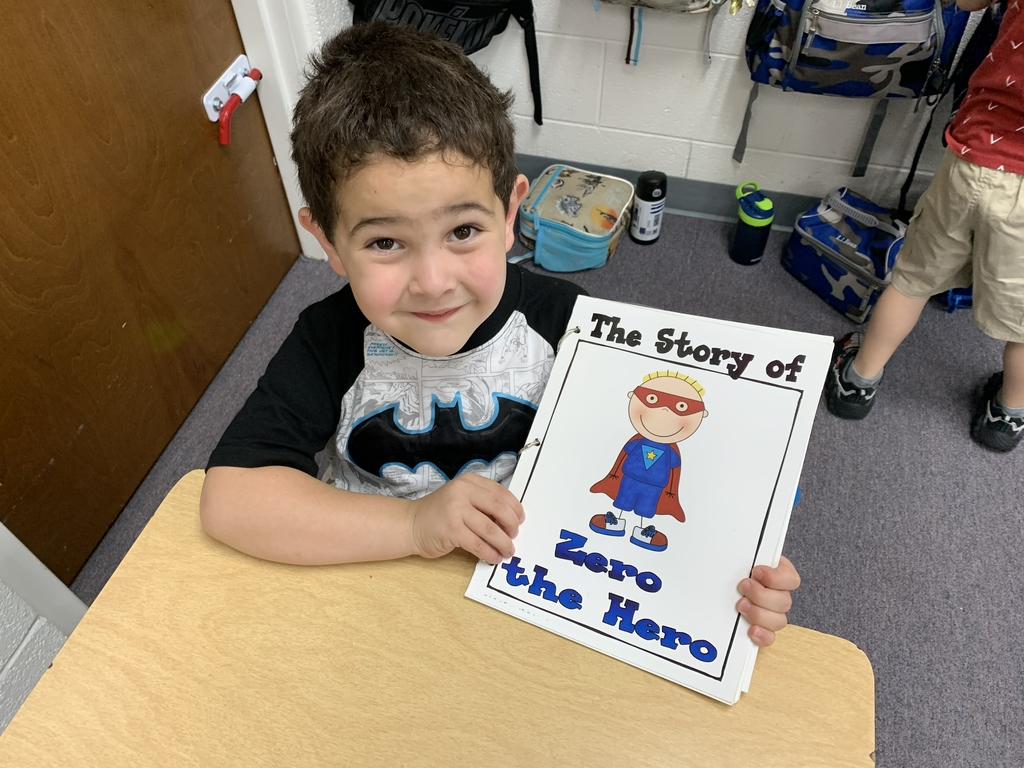 Aaron enjoyed reading about how Zero became a hero!