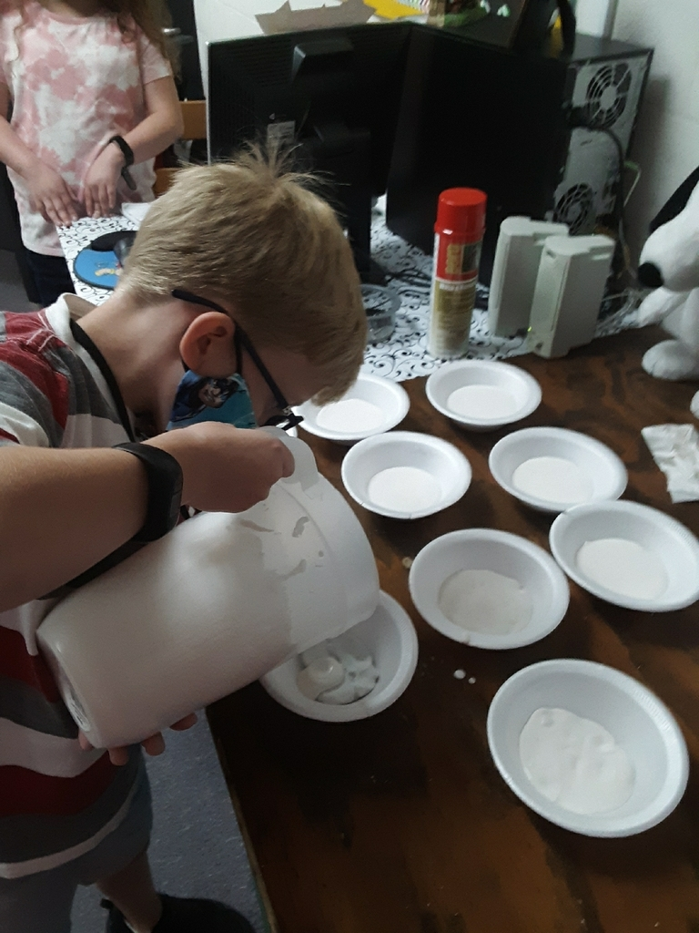 pouring of the plaster
